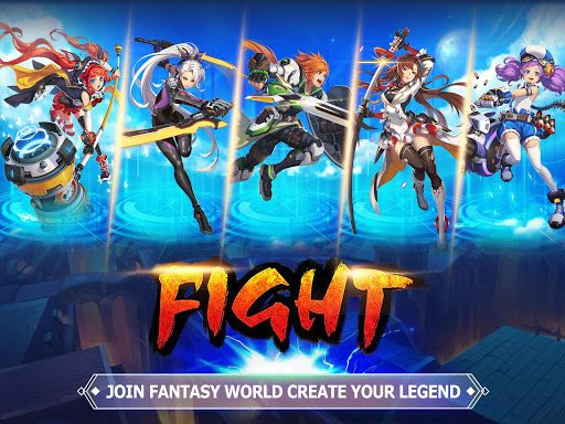 unlimited hack Blade wings future fantasy 3d anime mmorpg