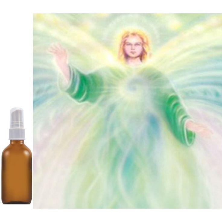 """Aura- & huisspray Aartsengel Rafael """"BESCHERMING"""" Lavendel, Eucalyptus, Pepermunt Reinig je huis, je aura en de energie van anderen met deze fris-geurende auraspray geïnspireerd door de kracht van aartsengelRafael (bescherming, gezondheid, vriendschap en veiligheid). Met natuurzuivere etherische olie. 100 ml in glazen fles met verstuiver."""