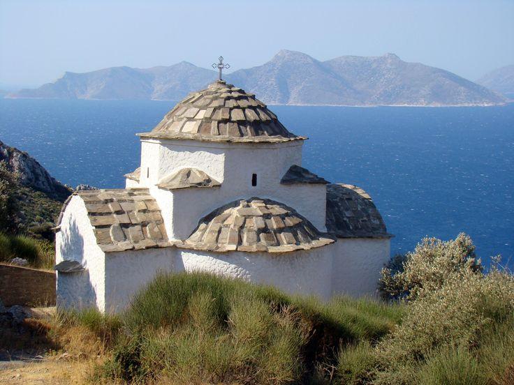 Old Byzantine Church, Kalithea, Western Samos Island, Greece
