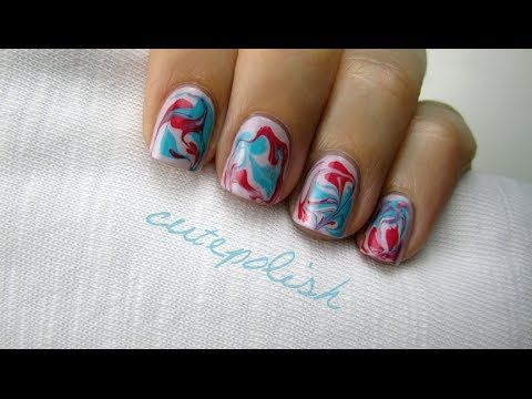 Best 25 water marble nails ideas on pinterest water marble nail dry water marble nails learn how to create an amazing marble manicure without having to prinsesfo Choice Image