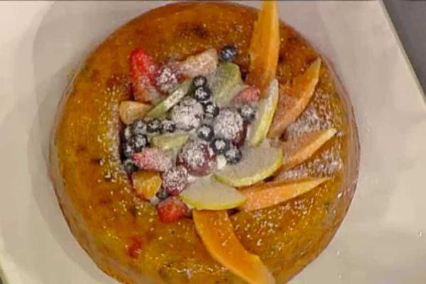 Ricetta Ciambellone alla frutta - Sal De Riso