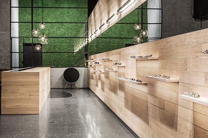 Leidmann eyewear shop by Kirsten Scholz & Stephanie Thatenhorst, Munich – Germany