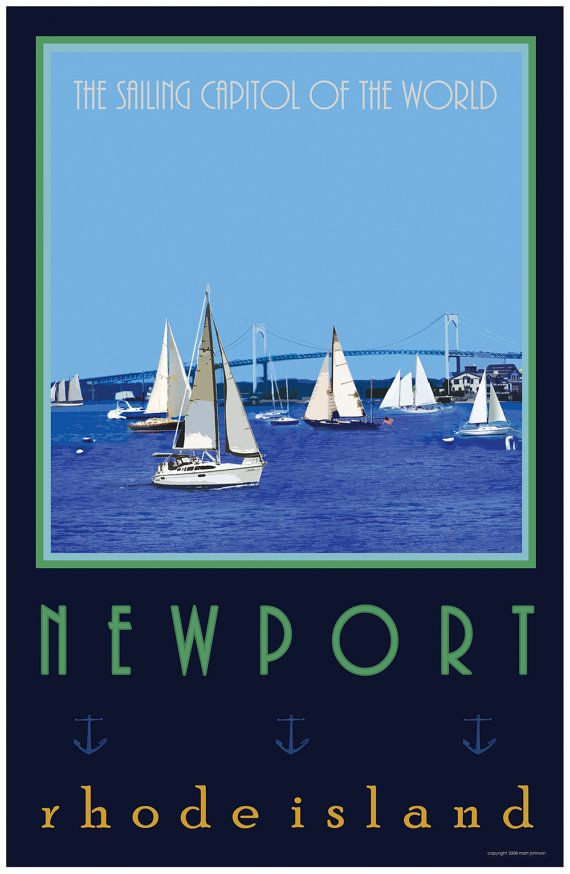 Newport Rhode Island by mattjohnsondesigns,