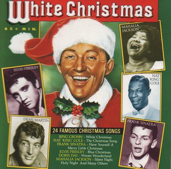 Dean Martin White Christmas.Bing Crosby Nat King Cole Frank Sinatra Dean Martin