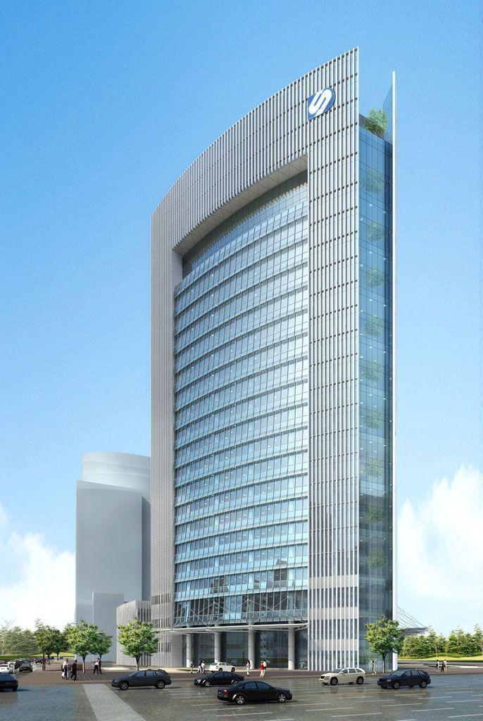 Arquitectura de edificios modernos google search for Fachadas modernas para oficinas