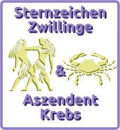 Sternzeichen Zwillinge & Aszendent Krebs in 2020