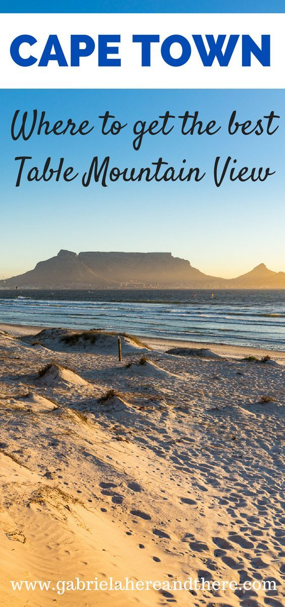 Cape Town, South Africa: Where to get the best Table Mountain view and a review of Bliss Boutique Hotel.