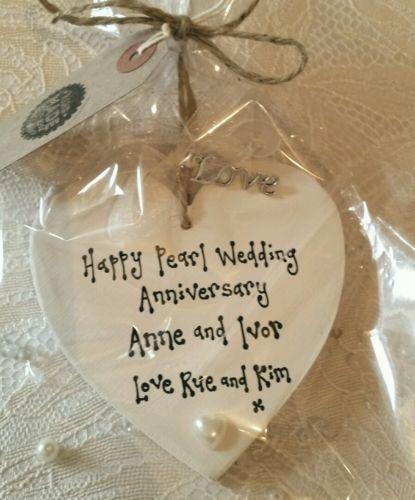 ... gift 30th wedding anniversary gifts pearl wedding present gb 2 forward