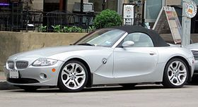 Controversial for it's exterior styling, the first generation BMW Z4 is one of the better roadsters out there. I appreciate that it was manufactured here in Greenville, SC during it's entire production run.