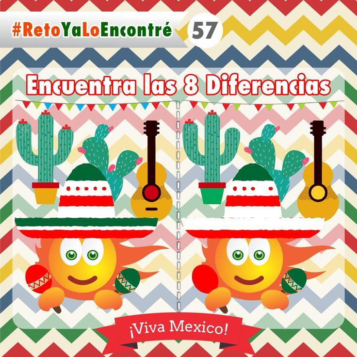Encuentra las Diferencias #México #Retos #Juegos