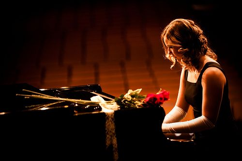 I want my picture taken with a piano(: