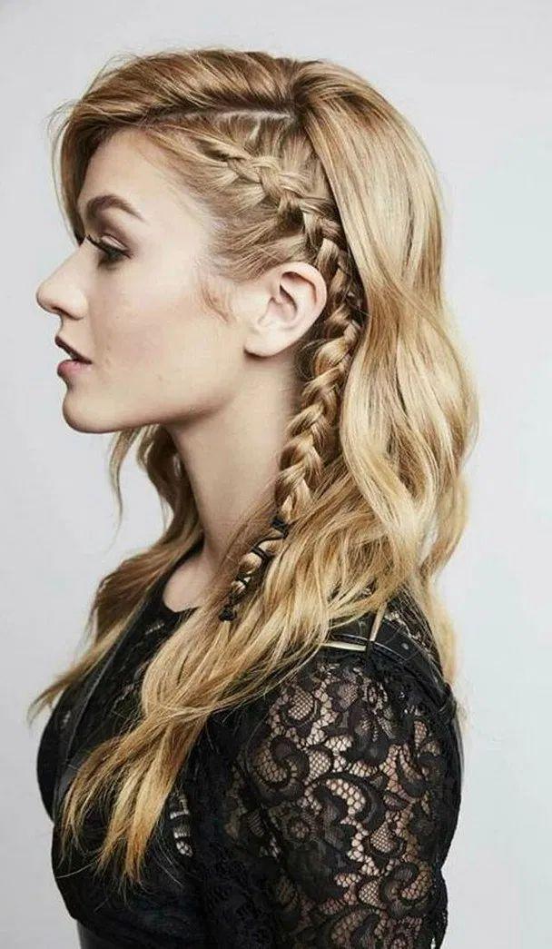 Curly Side Braids In 2020 Long Hair Styles Hair Styles Side Braid Hairstyles