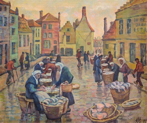 Fischmarkt by Hans Eder