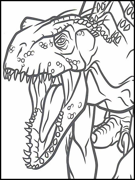 Jurassic World 41 dibujos faciles para dibujar para niños ...