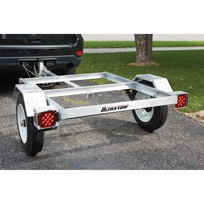 FREE SHIPPING — Ultra-Tow 40in. x 48in. Aluminum Utility Trailer Kit