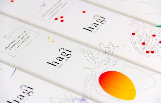 Hagi balsamy - Hagi balm Design of the packaging created for the series of natural body balms manufactured in small Warsaw family company–Hagi. Colors, selective varnish and gentle embossing emphasize the characteristics of these natural products Project: Diana GawronkiewiczClient Hagi
