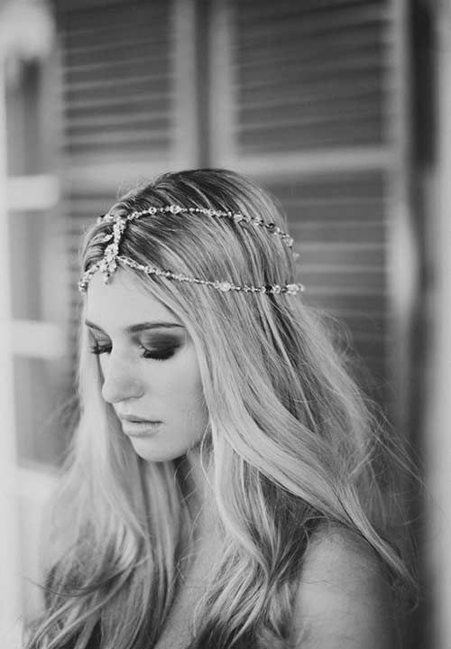 I love head pieces, but I could never wear one....they are gorgeous!
