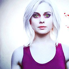 For my 30 day makeup challenge. Planning on doing iZombie makeup for the TV show day!!
