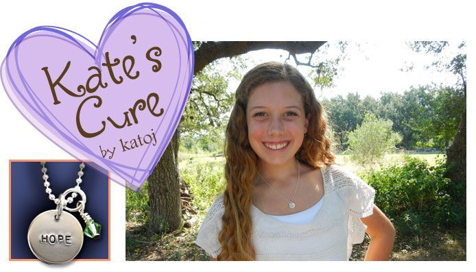 Hi everyone! Kate's Cure is now on Pinterest!  If you haven't heard of Kate's Cure yet, it's a charity that I, a 14 year old girl, started in September of 2012.  All the proceeds from these $25 necklaces go to the Cancer Research Institute, which funds scientists trying to find a cure for cancer.  This is a picture of the necklaces that I make.  Please go online to katescure.com for information, or just click the picture! Thanks!