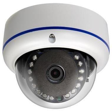 HD-CVI 720p Outdoor IR Dome Camera w/ 3.6mm HD Fixed Lens & 15 IR LEDs