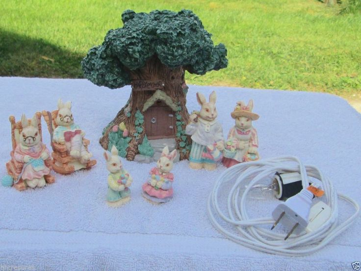 17 Best Images About Easter Villages On Pinterest
