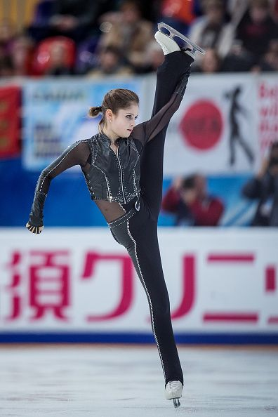 Yulia Lipnitskaya. So sad about her struggle in this competition today (rostelecom cup 2016)