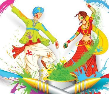 Simple Activity Game For Holi Party