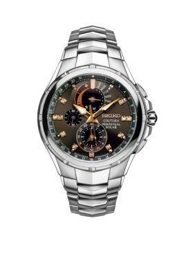 Seiko Men's Coutura Watch - Silver - One Size