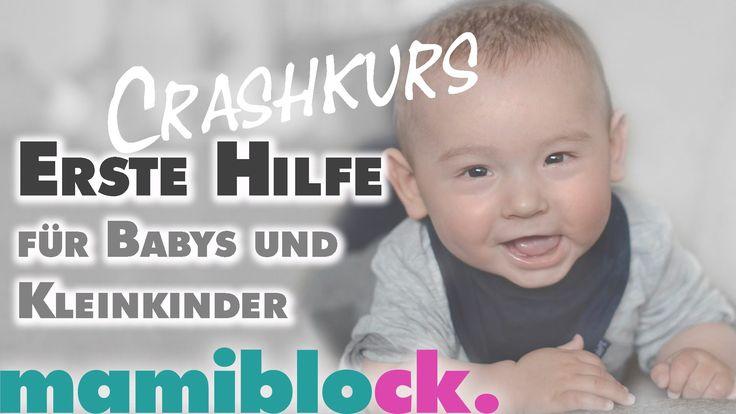 Erste Hilfe Crashkurs für Babys und Kleinkinder | verschlucken | vergift...
