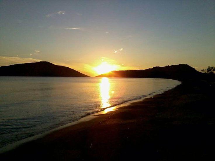 Sunset in Gialova