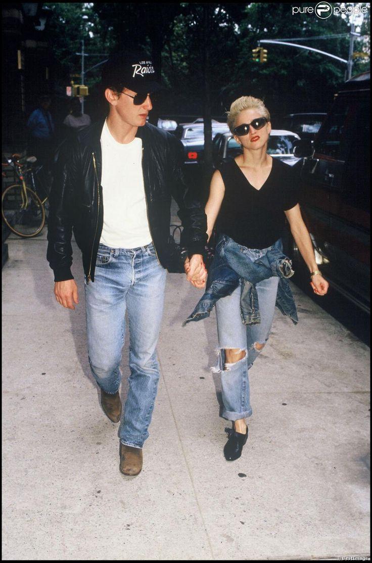 Madonna & Sean Penn 1987                                                                                                                                                                                 Plus