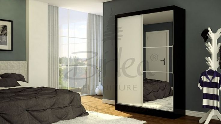 Image result for mirrored missed wardrobe doors