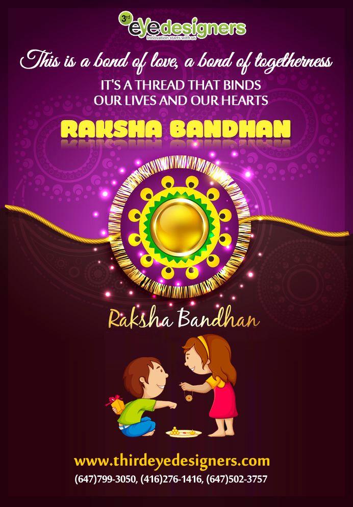 Team #ThirdEyeDesigners wish you all a very very Happy Raksha Bandhan..!!  #RakshaBandhan  #Rakhi