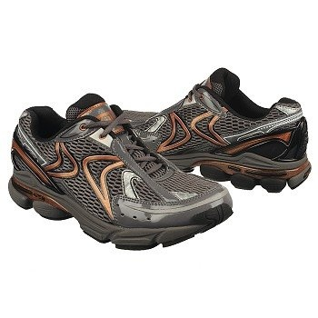 Aetrex RX Runners Shoes (Grey/Copper) - Men's Shoes - 9.0 W