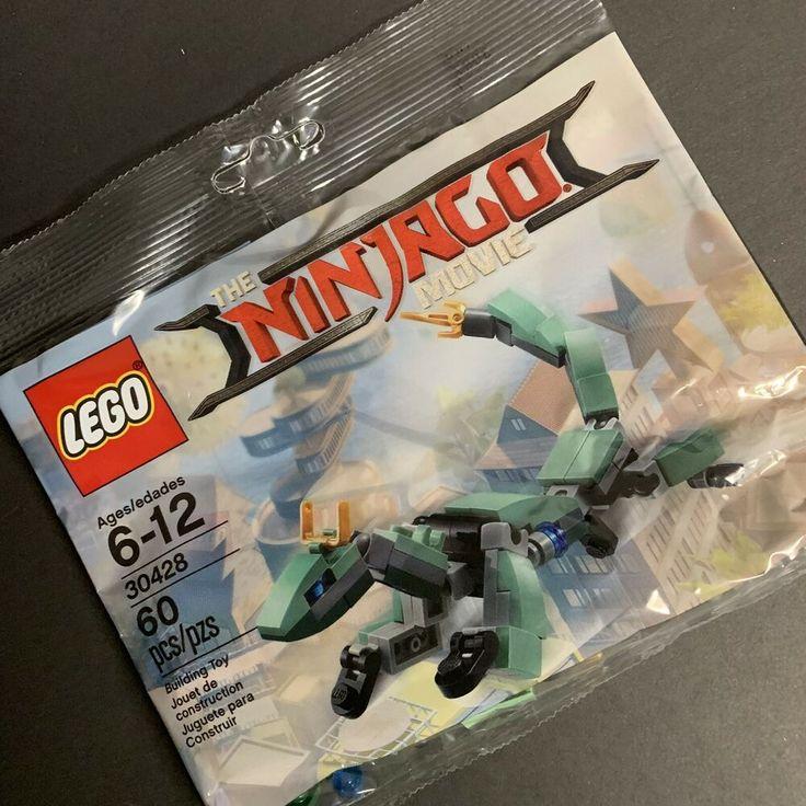 30428 Green Ninja Mech Dragon Lego The Ninago Movie Polybag New /& Sealed