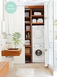 pralka i suszarka w małej łazience - Google Search