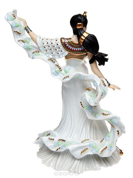 """Мартин Эванс """"Принцесса Тутанхамона"""", статуэтка. Фарфор, роспись, золочение, ручная работа. Danbury Mint, Великобритания, 1990-е гг. - купить по выгодной цене в разделе антиквариат, винтаж, искусство интернет магазина OZON.ru"""