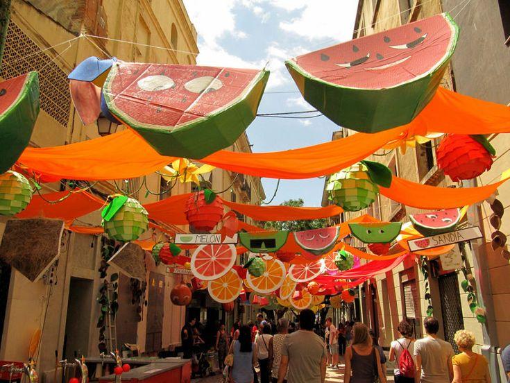 Best time for Festa Major de Gràcia