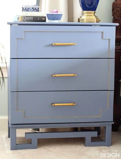 ikea hack tarva greek key dresser