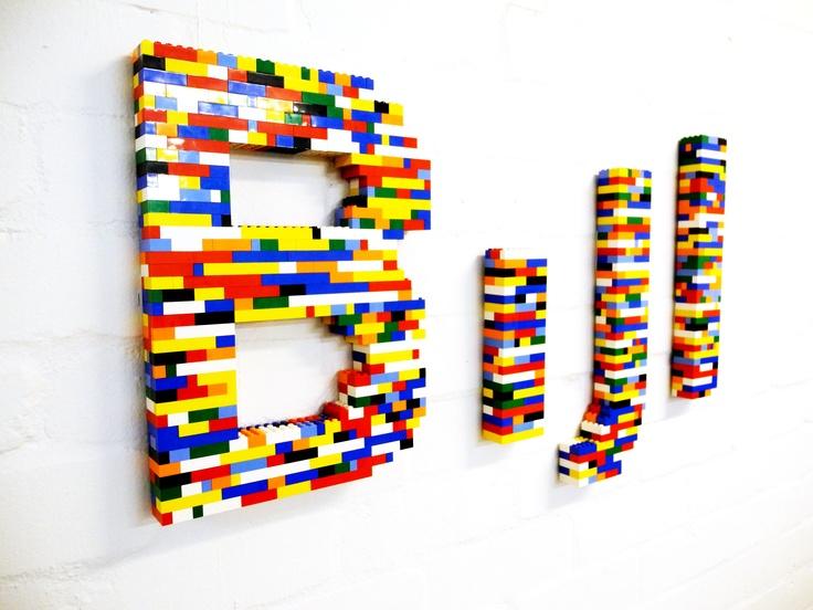 Bijl logo in Lego - Bijl Architecture