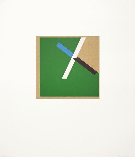 Tony Delap, Too Much Green I (2012), via Artsy.net 3500$