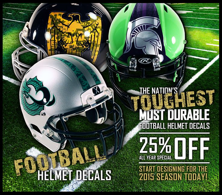 Best Healy Decals Images On Pinterest Football Helmets - Helmet decalsfootball helmet decals business art designs