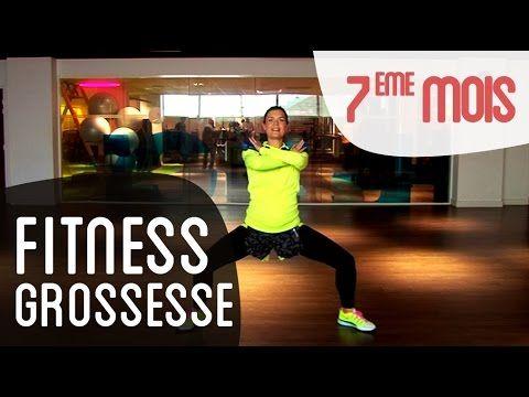 Fitness 8ème mois de grossesse - YouTube