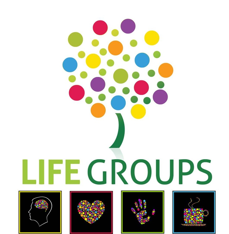 The new Life Groups logo for Lighthouse Community Church