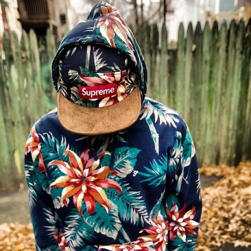 Street style supreme floral | $ HEAD TO TOE $ | Fashion ...
