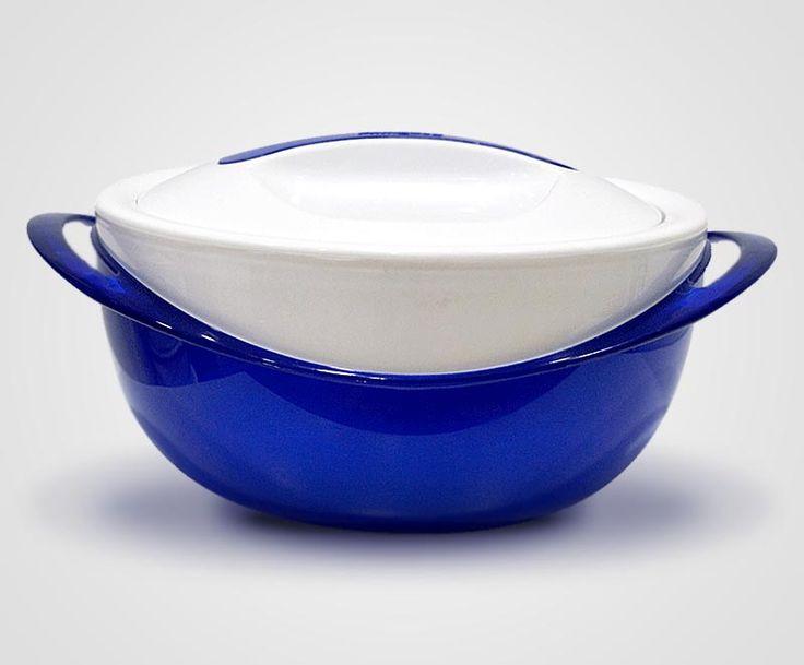 Θερμός φαγητού μπλε panache 3,5 lt εκόνα 1