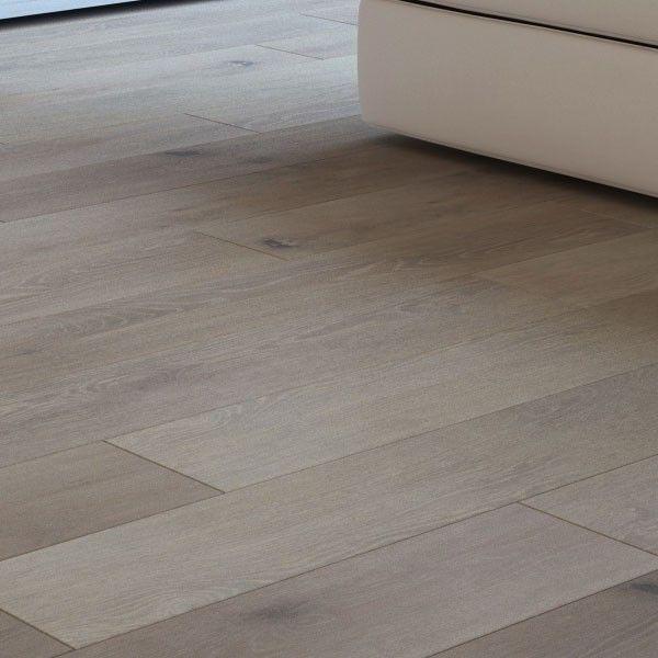 Wide Plank Handscraped & Wire Brushed Monaco White Oak Wood Flooring