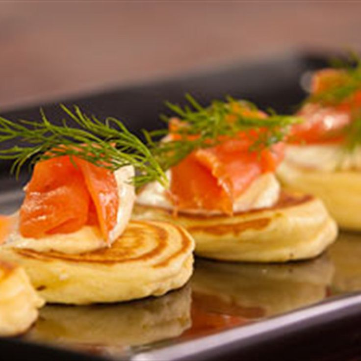 Try this Savoury Pikelets with Smoked Trout and Horseradish Cottage ...