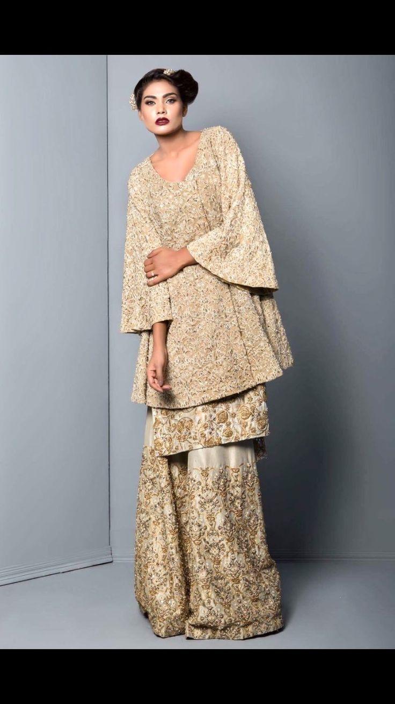 Pakistani couture Mahgul, Trunks of Sabine, Fall 2016