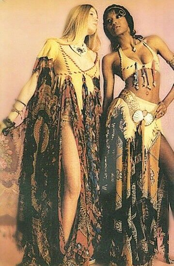 Hippie fashion... 1960s  #hippie #bohemian ☮k☮ #boho